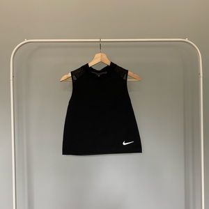 Nike Dry-Fit Mesh/Reflective Detailed Crop